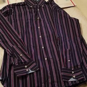 Tommy Hilfiger striped button up shirt